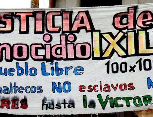 """""""No nos cansaremos de decir la verdad"""" – Comunicado por sobrevivientes del genocidio Ixil mientras se terminan audiencias del re-juicio en Nebaj"""