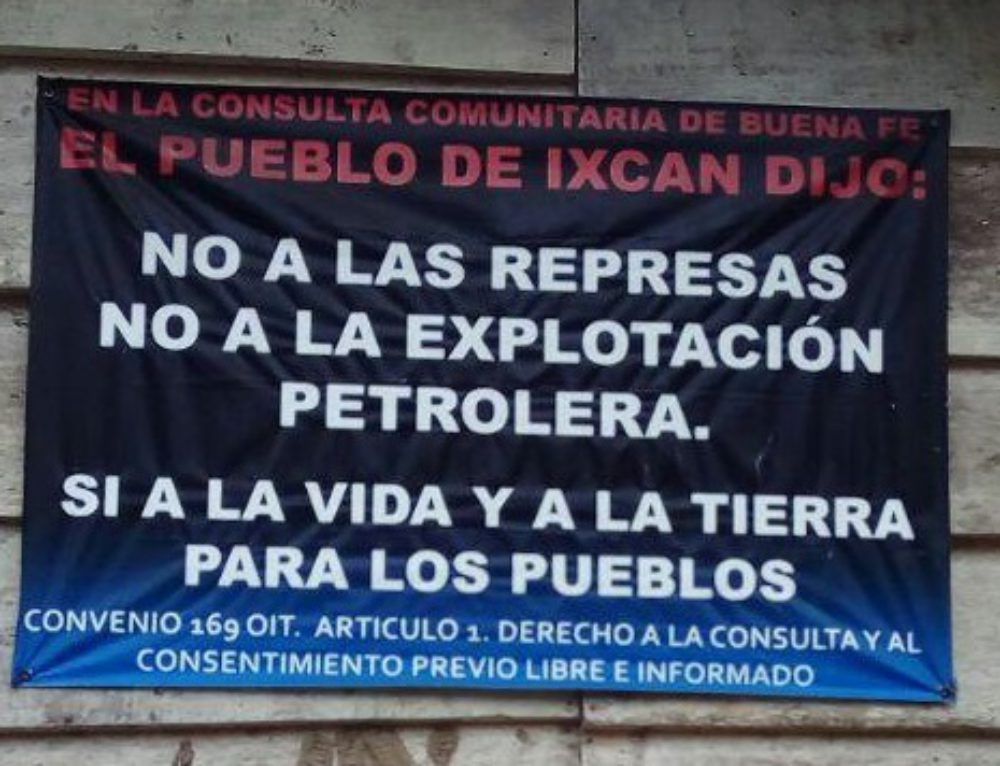 Sí a la vida! Las comunidades del Ixcán conmemoran 10 años desde la consulta de buena fe que dijo 'no' a la extracción de recursos