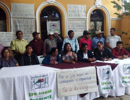 Survivors of the Internal Armed Conflict Denounce Current Remilitarization