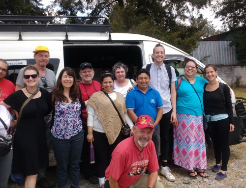 Communities Rise Up: Report-back on NISGUA's delegation to communities organized in resistance to Tahoe Resources