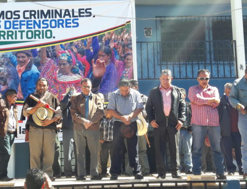Freed political prisoners return home to Huehuetenango