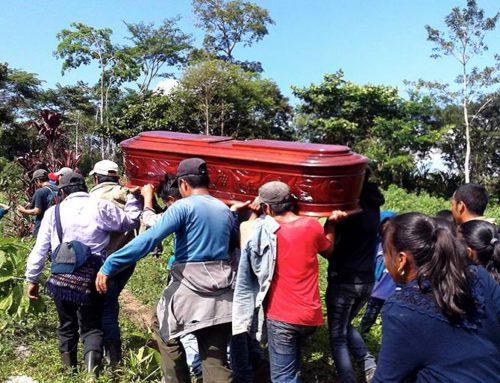 CERRADO: Defensor del territorio asesinado con arma de fuego
