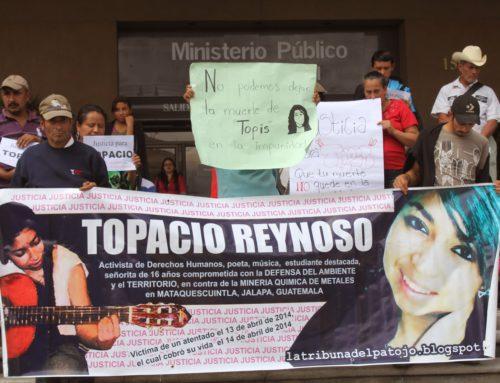 Cuarenta y seis organizaciones guatemaltecas e internacionales exigen restauración de medidas de seguridad para la familia Reynoso Pachecho