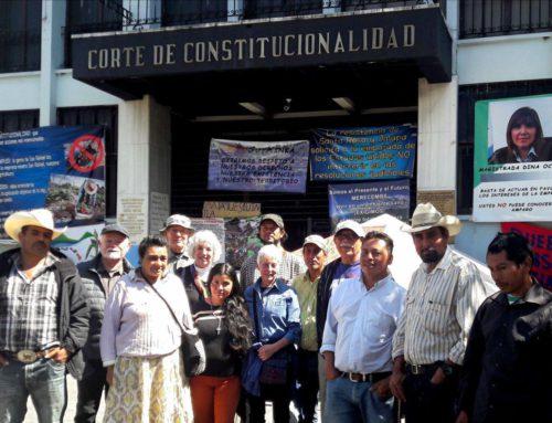 Peaceful resistance members meet with international delegation
