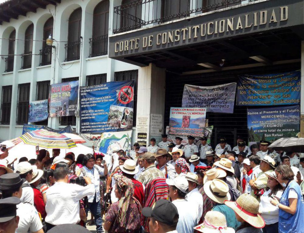 Thousands march in protest of Escobal Mine and in support of Xinca People's right to self-determination