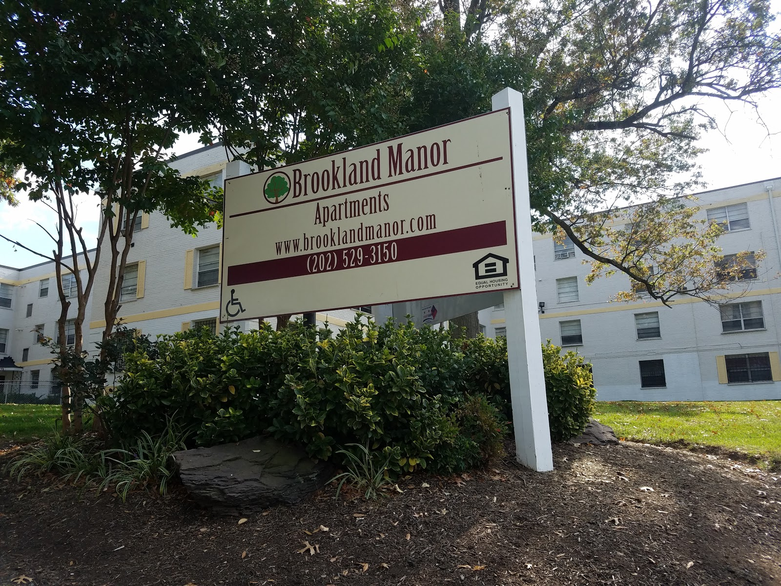 Brookland Manor Sign Nisgua