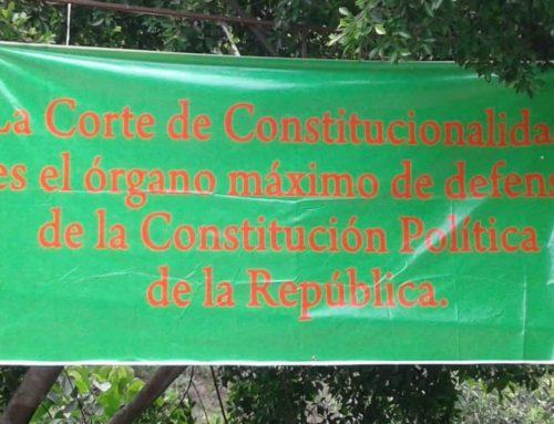 19 Organizaciones rechazan el golpe técnico contra la Corte de Constitucionalidad