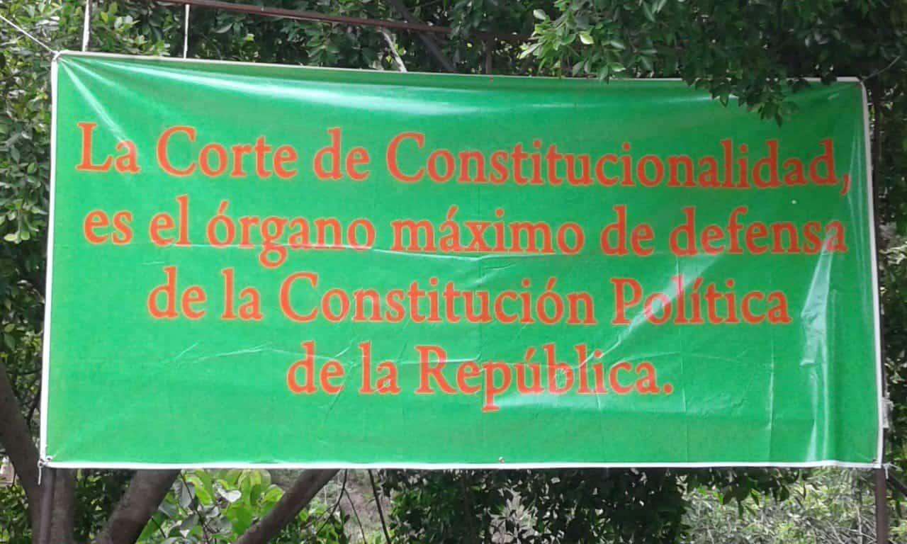 La Corte de Constitucionalidad es el órgano máximo de defensa de la Constitución Política de la República