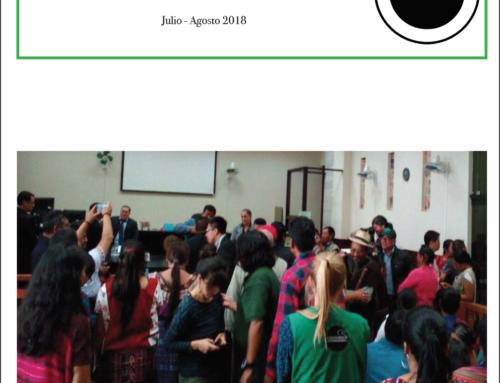 Boletín de ACOGUATE: julio-agosto 2018