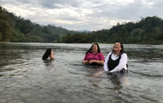 NMSU Delegates Celebrate Water and Life in Chixoy River