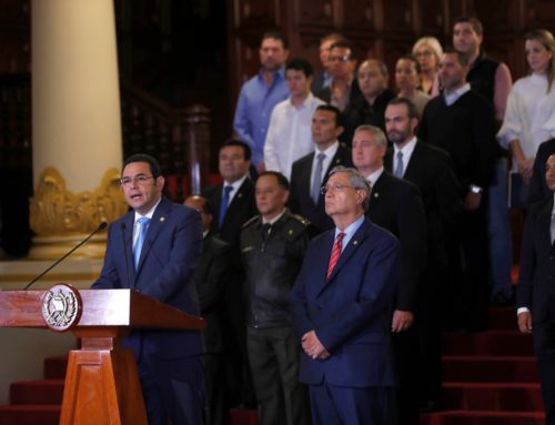 Political Crisis in Guatemala: Organizations Call on Embassy, State Department to Support CICIG
