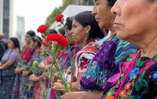 Maya Achi Women in a Ceremony for the Disappeared, Photo Credit: Impunity Watch