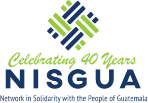 NISGUA's Celebrating 40 Years logo