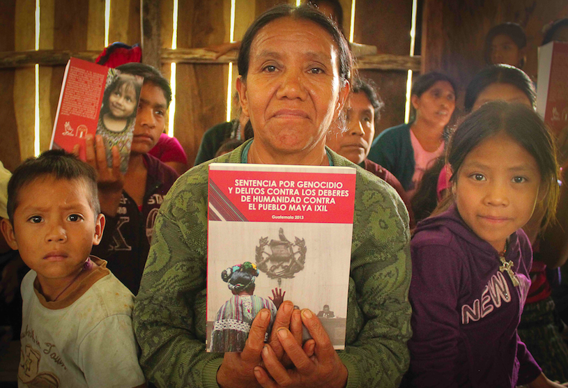 Survivors share their reflections as Ríos Montt is tried for genocide…again