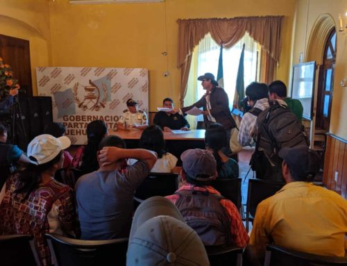 Letter to Huehuetenango Governor: No U.S. Militarization without Consultation