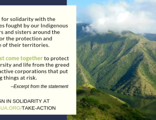 CLOSED: Stand with Indigenous Peoples & demand respect for self-determination