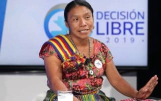 Presidential Candidate Thelma Cabrera, Photo Credit: Prensa Libre