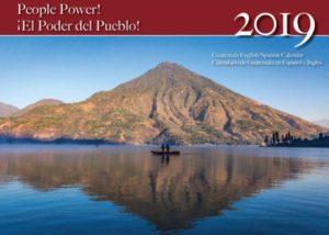 """NISGUA's 2019 calendar: """"People Power!"""""""