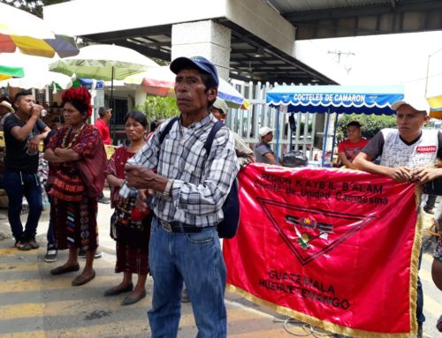 Guatemalan presidential elections Sunday: Social movements confront militarism & neoliberalism