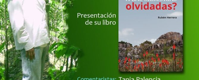 On July 22nd, Rubén's life partner, feminist leader Alba Cecilia, launched Rubén's second book, ¿Cómo olvidar a las memorias olvidadas? or How to forget the forgotten memories? You can watch the livestream of the launch in Spanish at www.facebok.com/MadreSelvaColectivo.